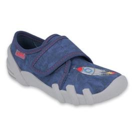 Befado kinderschoenen 273X302 blauw grijs