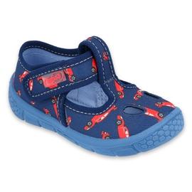 Befado kinderschoenen 533P012 rood marineblauw blauw
