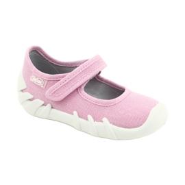 Befado kinderschoenen speedy roze 109P223