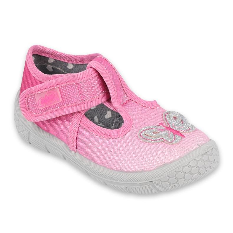 Befado kinderschoenen 533P005 roze zilver