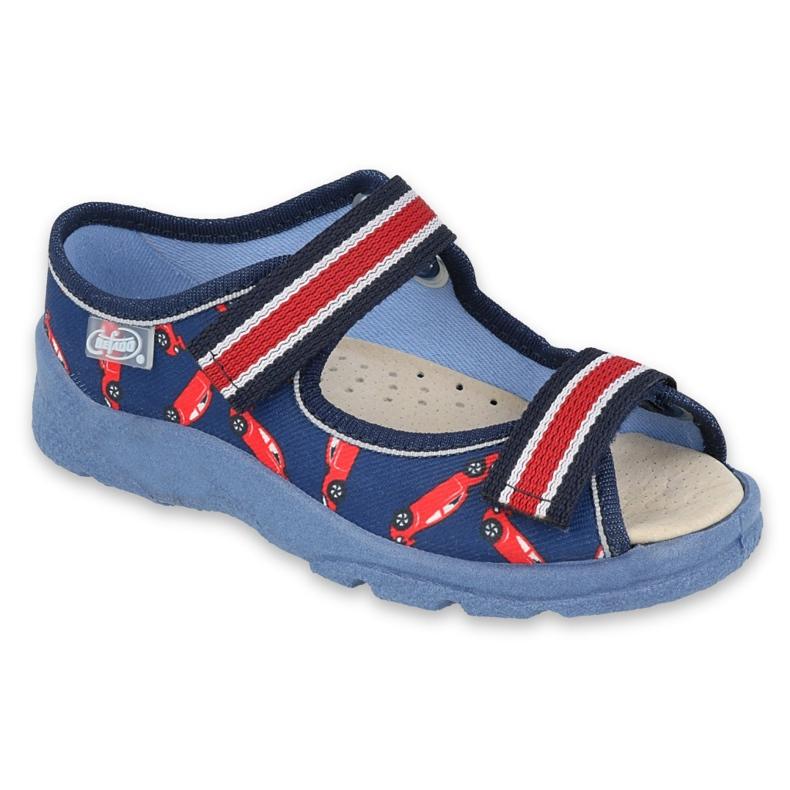 Befado kinderschoenen 869X149 rood marineblauw