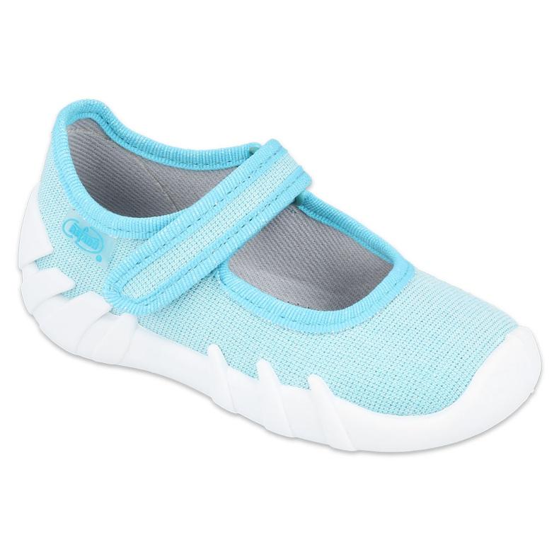 Befado kinderschoenen speedy turquoise 109P225 blauw