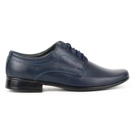 Lukas Communie schoenen voor kinderen J1 marineblauw