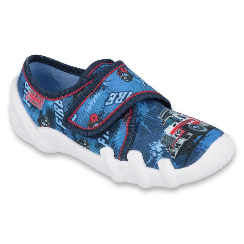 Befado kinderschoenen 273X309 rood marineblauw blauw