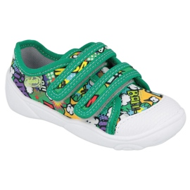 Befado sneakers met klittenband Bang 907P122 veelkleurig groente