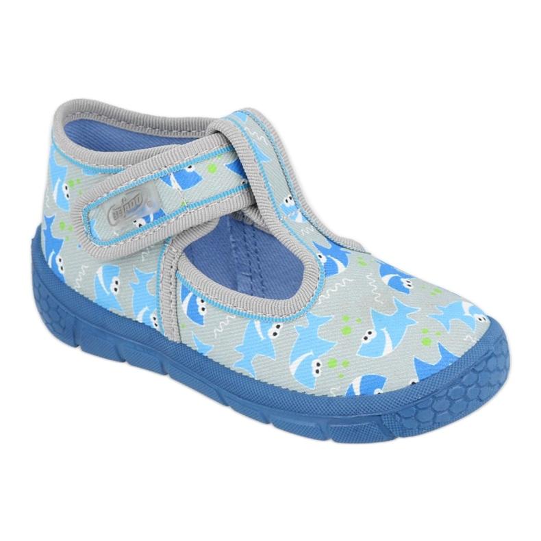 JONGENSSCHOENEN HONING BEFADO - 531P091 blauw grijs