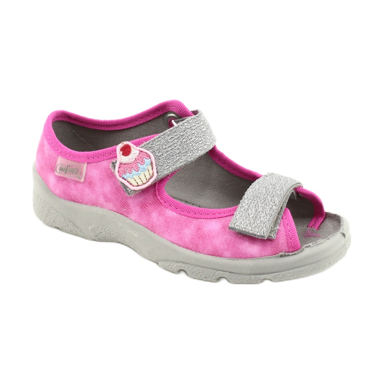 Befado kinderschoenen 969X163 roze zilver