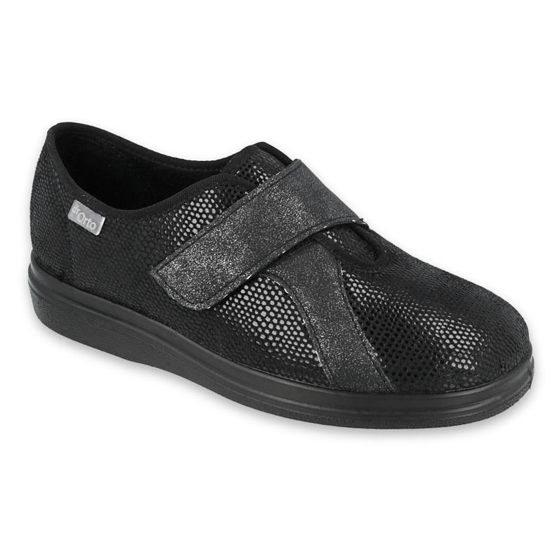 Befado damesschoenen pu 039D002 zwart