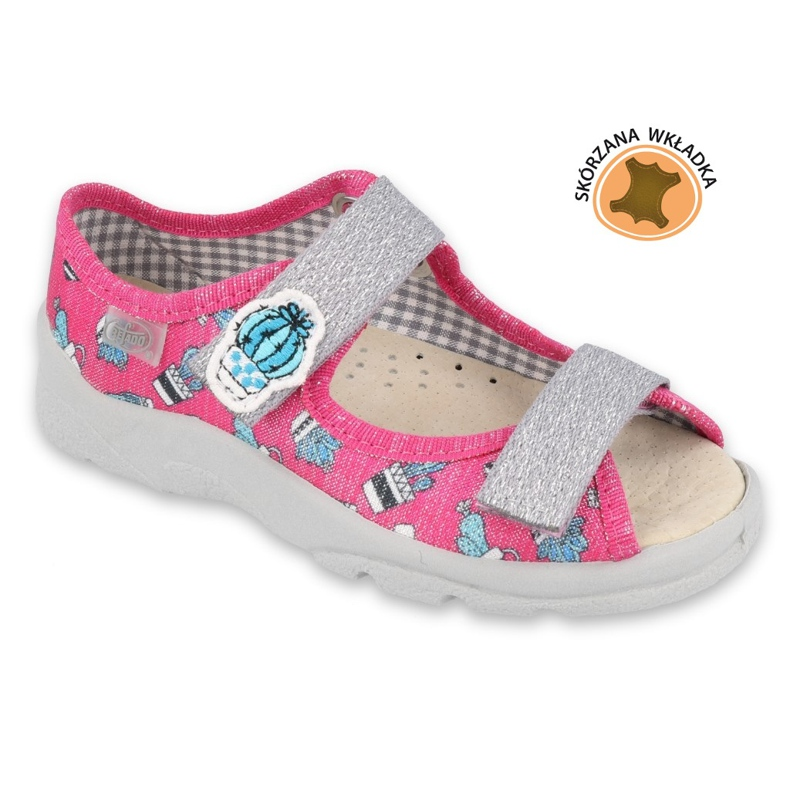 Befado kinderschoenen 869Y152 roze grijs