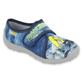 Befado kinderschoenen 560X149 blauw grijs