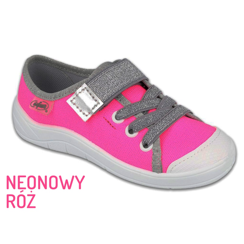 Befado kinderschoenen 251X171 roze grijs