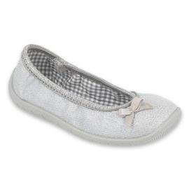 Befado kinderschoenen 980X102 zilver grijs