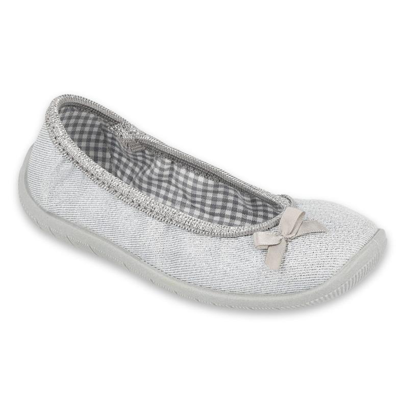 Befado kinderschoenen 980Y102 zilver grijs