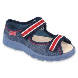 Befado kinderschoenen 869X160 rood marineblauw
