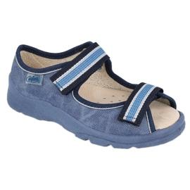 Befado kinderschoenen 869X158 marineblauw blauw