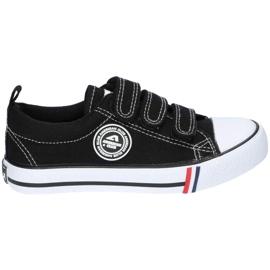 American Club Zwarte Amerikaanse LH33 / 21 Velcro sneakers
