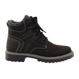Zwart Wintertrappets voor schoenen Naszbut 831