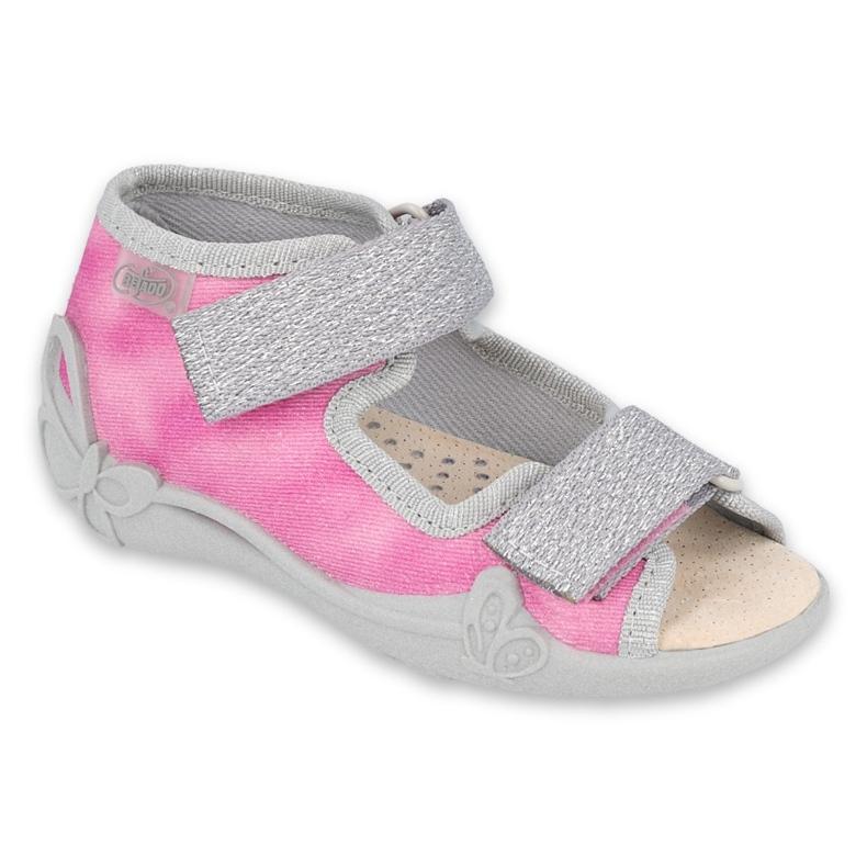 Befado kinderschoenen 342P033 roze zilver