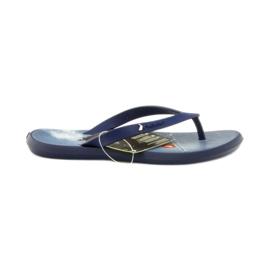 Marineblauwe slippers kinderenschoenen flip-flops Rider 1307