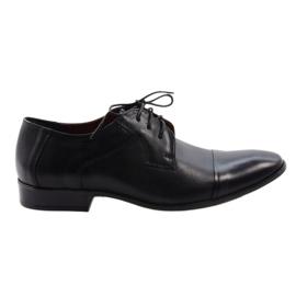 Zwarte klassieke schoenen Nikopol 210