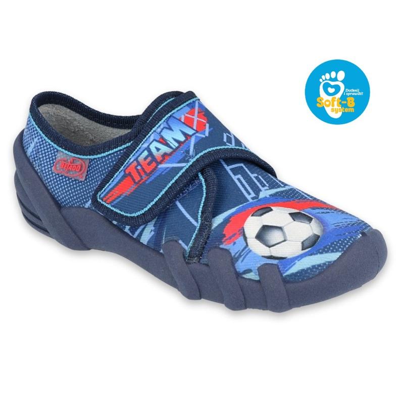 Befado kinderschoenen 273X321 marineblauw blauw