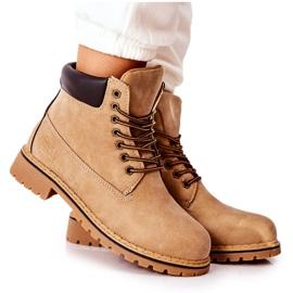 PH1 Beige Crush warme laarzen voor dames bruin
