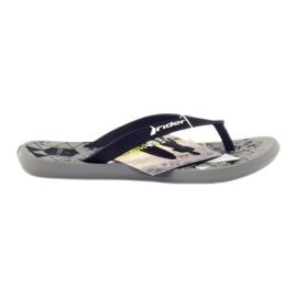 Zwarte flip-flops voor water Rider 81561