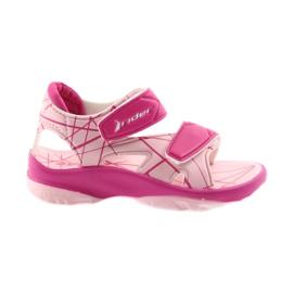 Roze sandalen kinderen klittenband schoenen voor water Rider 488