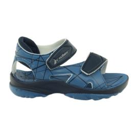 Blauwe sandalen kinderen klittenband schoenen voor water Rider