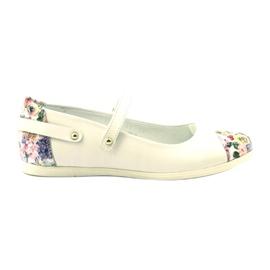 Ballerina's meisjes bloemen Bartek wit veelkleurig