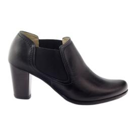 Gregors 553 zwarte damesschoenen
