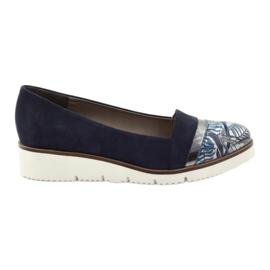 Edeo Schoenen LORDSY comfortabel marine blauw