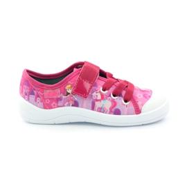 Princess Slippers Befado 251x069 roze wit