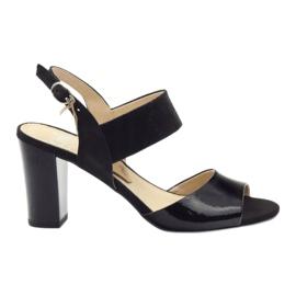 Caprice sandalen damesschoenen 28307 zwart