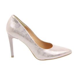 Espinto Pumps On High Heel Pearl Rose