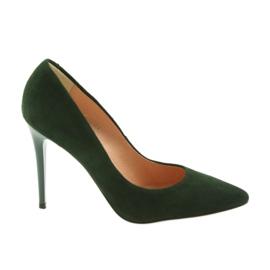 Espinto Pompen op een groene stiletto
