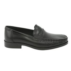 Pilpol Mocassins schoenen zwart Pilbut 01