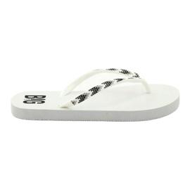 Dames-flip-flops Big Star 274A549 wit