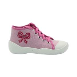 Befado kinderschoenen sneakers slippers 218p047 roze