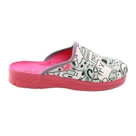 Slippers voor het schilderen Befado 708x003 HIT! roze