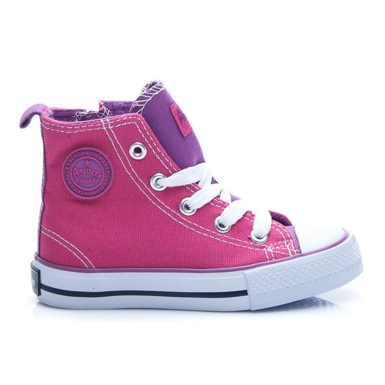 American Club Sneakers voor meisjes roze