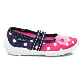 Viggami Home Schoenen In Polka Dot roze