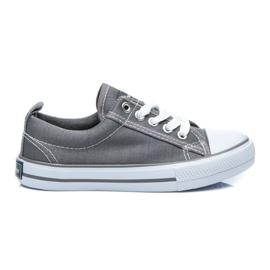 American Club Amerikaanse sneakers voor een jongen grijs