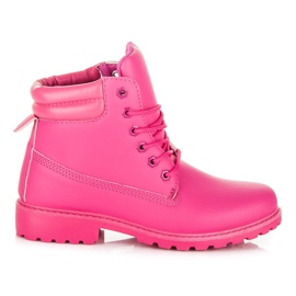 Seastar Boots Trappers voor dames roze