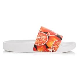 Vices Citrus slippers oranje