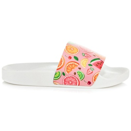 Vices Fruit-slippers roze