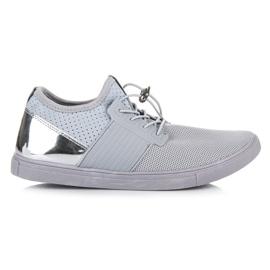 Seastar grijs Sportschoenen met een trekker