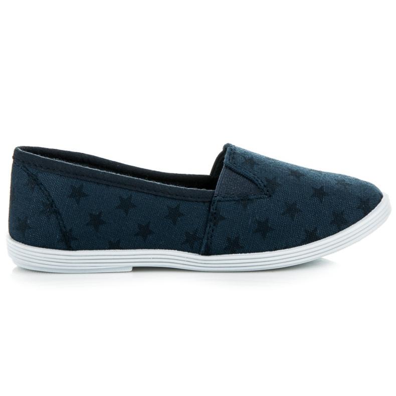 Mckeylor Sneakers met sterren blauw