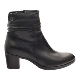 Zwart Leren laarzen Gregors 614