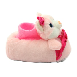 American Club Warme pantoffels Amerikaans-Amerikaanse kittens roze